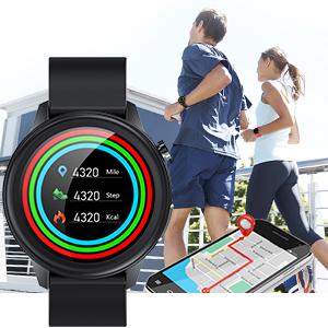 Sportuhr Fitness Tracker für Herren