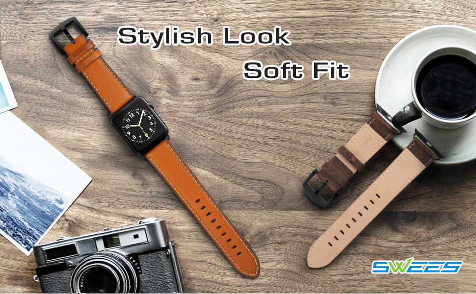 apple watch bands 42mm 44mm leather