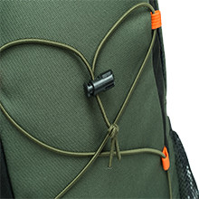 Durable elastic drawstring for extra space expension.