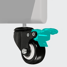 lockable wheel