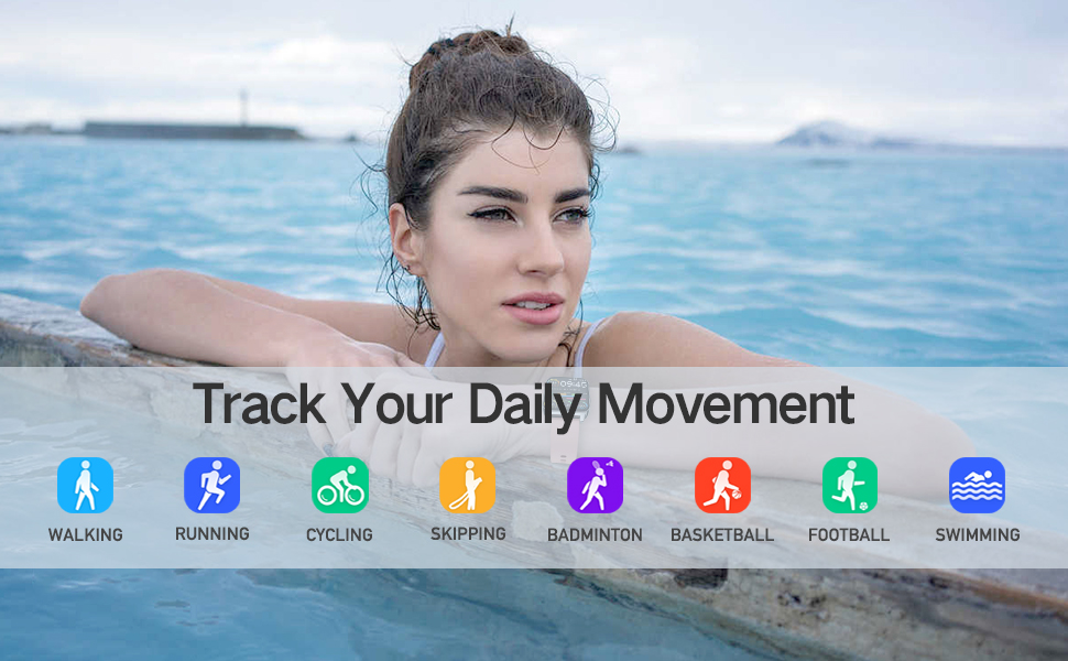 Track you daily movement