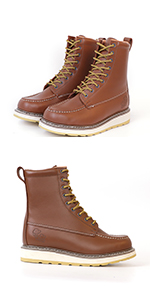 8 inch work boots for men