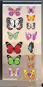 Butterfly Window Clings