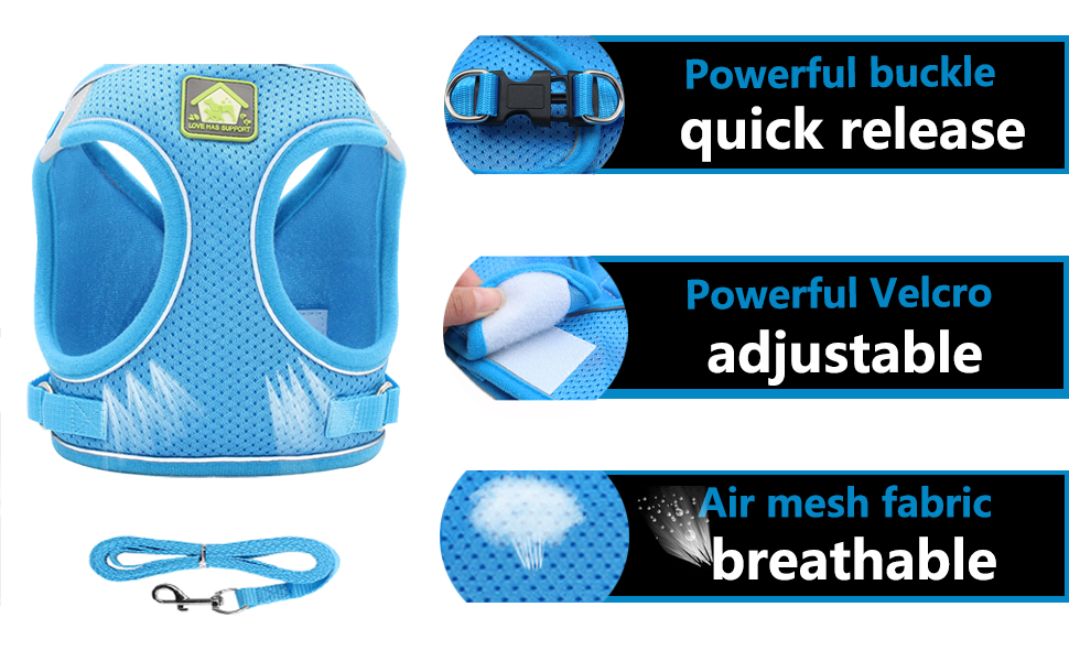 powerful buckle. ADJUSTABLE  Convenient and firm velcro.  Breathable and comfortable