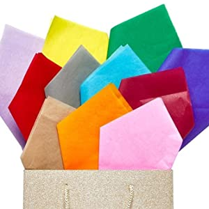 solid color tissue