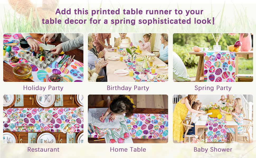 Easter Table Decorations for Dining Room