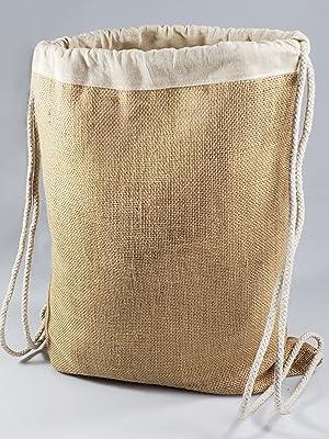 TBF Jute Drawstring bags