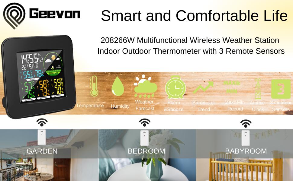 8266W wireless weather station
