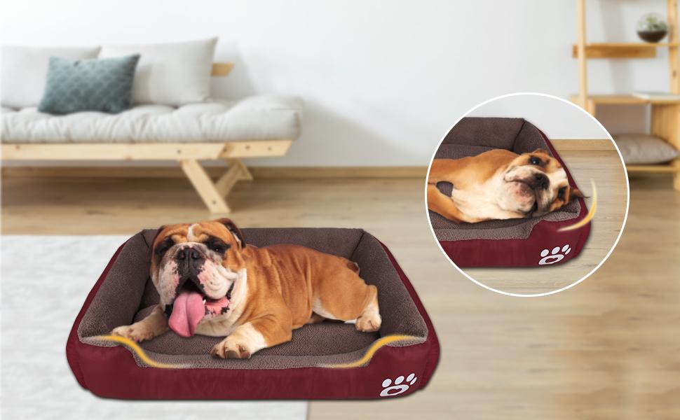 Durable waterproof dog bed