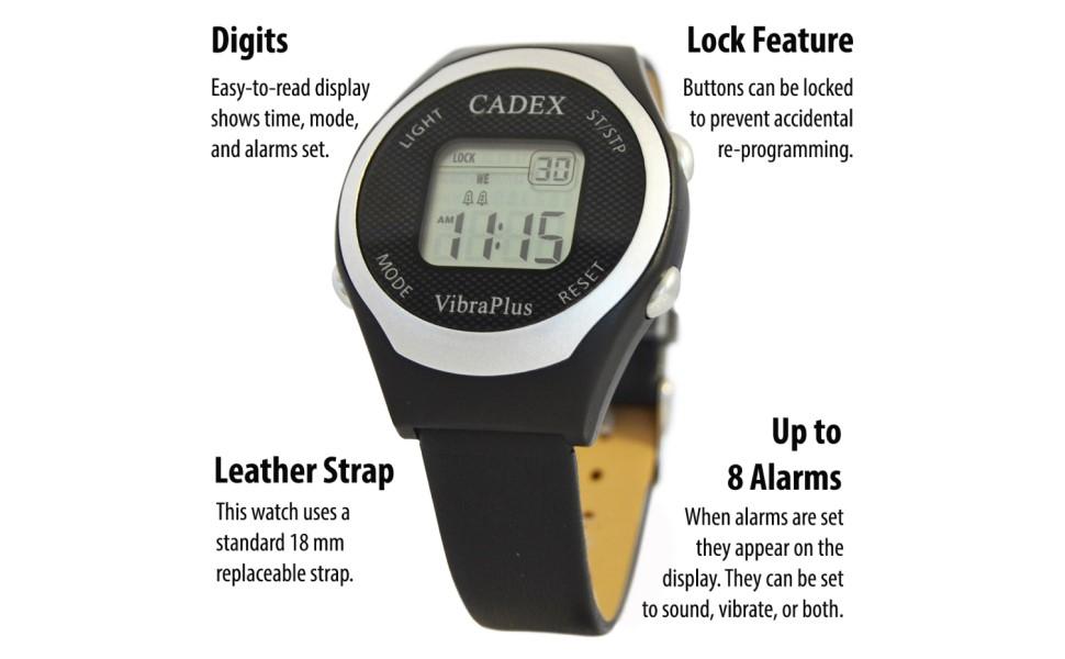 Cadex VibraPlus e-pill watch