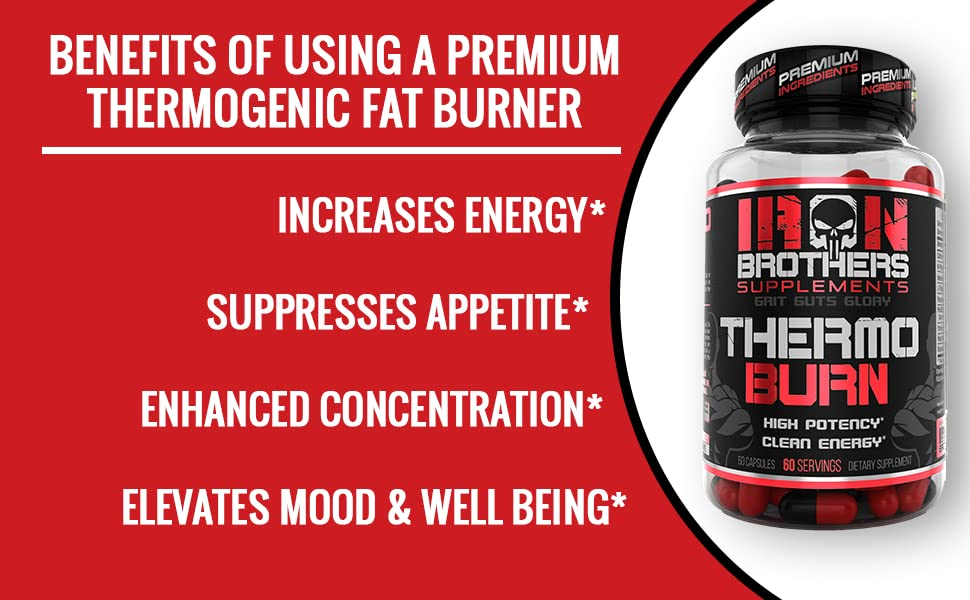 elevated mood increased energy suppressed appetite thermogenic fat burner weight loss jacked factory