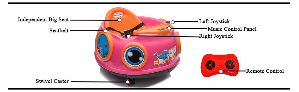 bumper car for kids