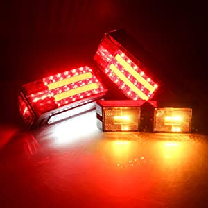 led trailer light kit with wiring boat trailer lights led submersible kit