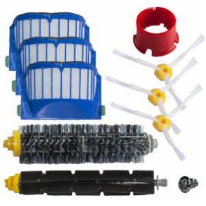 SCHWABMARKEN Kit de cepillos y filtros compatible para iRobot Roomba 600 620 630 650 660 - ¡No piezas originales de iRobot!: Amazon.es: Hogar