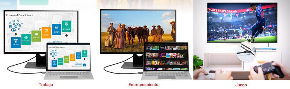 iVANKY Cable HDMI 4K: Amazon.es: Electrónica