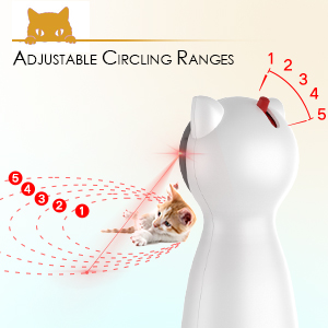 5 Adjustable Circling Ranges