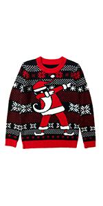 dab Dabbing Santa Ugly Christmas Sweater