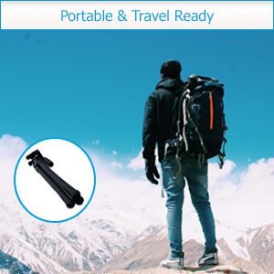 Portable and travel ready