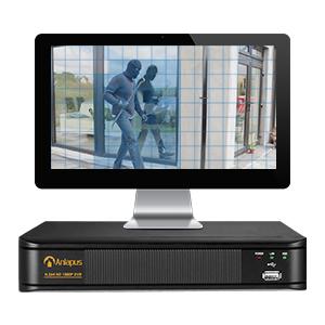 Anlapus 1080P Kit de Cámaras Seguridad 8CH H.265+ Videograbador DVR con (2) Cámara de Vigilancia Exterior, 20m Visión Nocturna, Alarma de Movimiento, P2P: Amazon.es: Bricolaje y herramientas