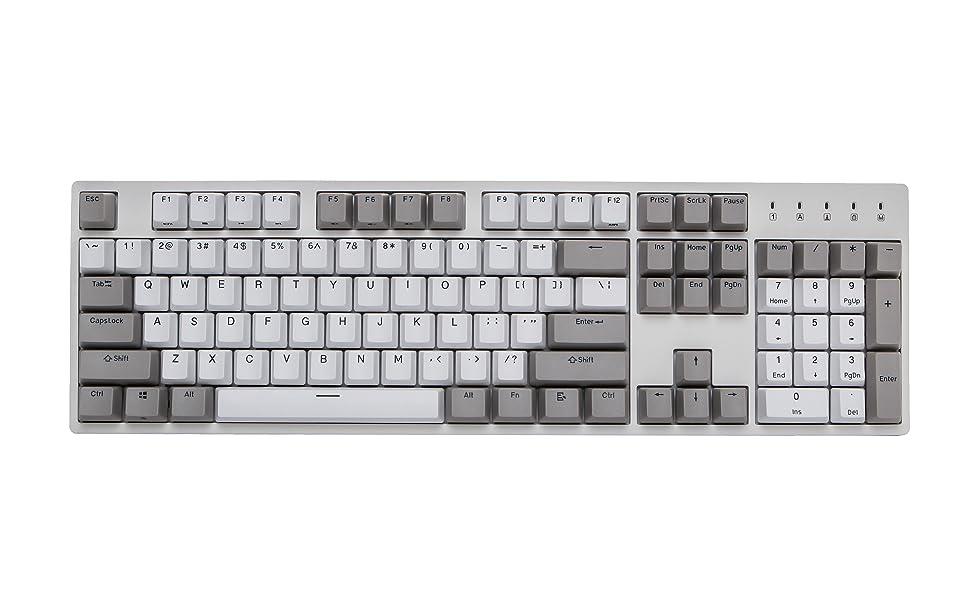 Durgod k310 Taurus Space Grey mechanical gaming keyboard doubleshot pbt macros customize