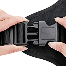 rabbitgoo tactical dog harness with handle for large dogs working service military army dogs