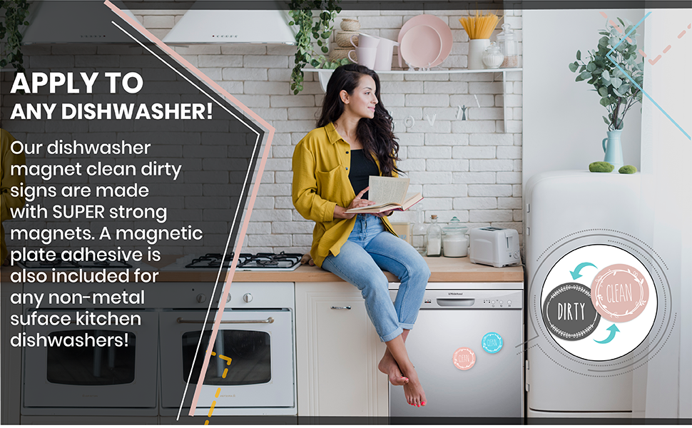dirty clean dishwasher magnet large dish dark all sign for kitchen magnets and extra dishes the magn