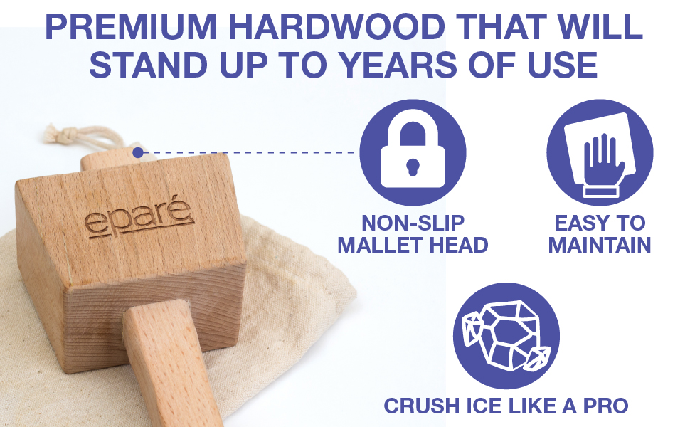 hammer crushed crusher wooden mallets crush wood