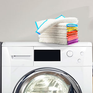 machine washable cleaning towels