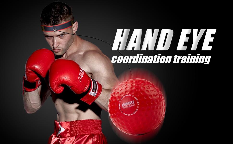 YMX BOXING Reflexball / Hand-Auge-Koordinationstrainingsball