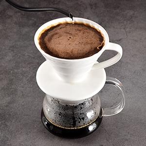 02 coffee filter cone