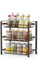 3 tier spice rack