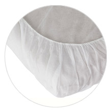 disposable elastic strap corner fitted sheet for spa salon tatoo clinic skin care  spa