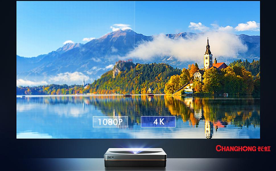 CHANGHONG D5UR Laser 4K Projector