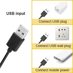 Multi-style USB Input