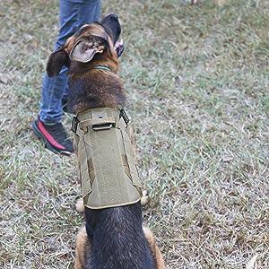 velcro dog harness