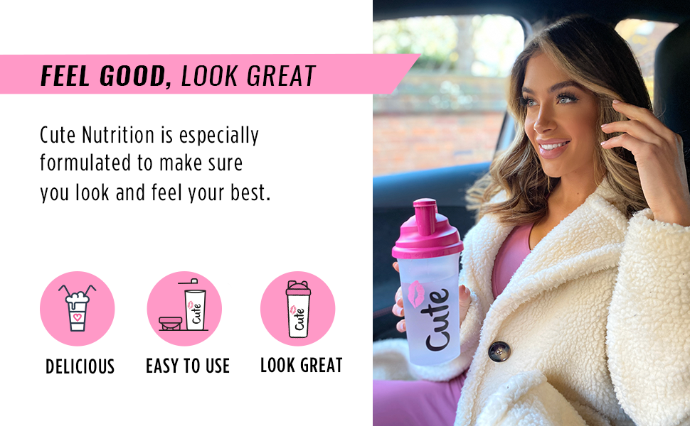 diet shaker feel good shake healthy delicious mixer supplements