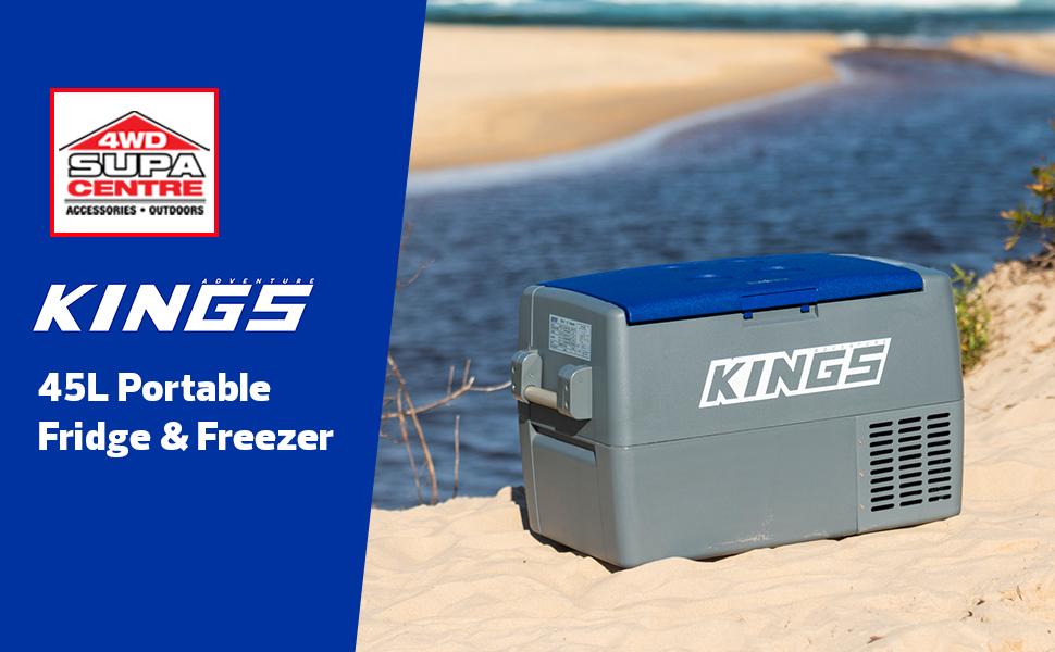 45L Portable 12v Fridge & Freezer