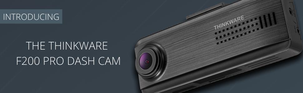 Thinkware F200 PRO Dash Cam