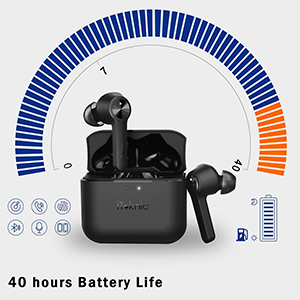 Wireless Earbuds 40H Playtime