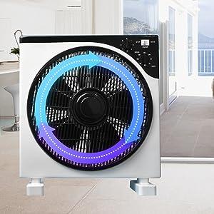 AirArtDeco Ventilador Box l Box Fan | Rejilla oscilante|12 ...