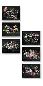 flowers blackboard