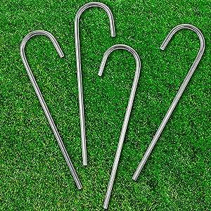 stakes for soccer goal