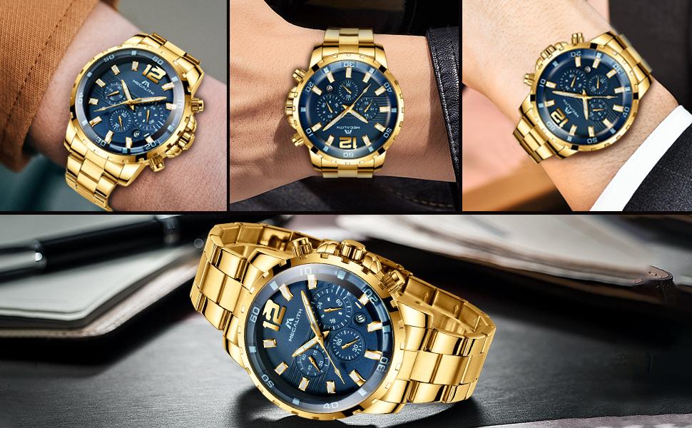 relojes hombre impermeable