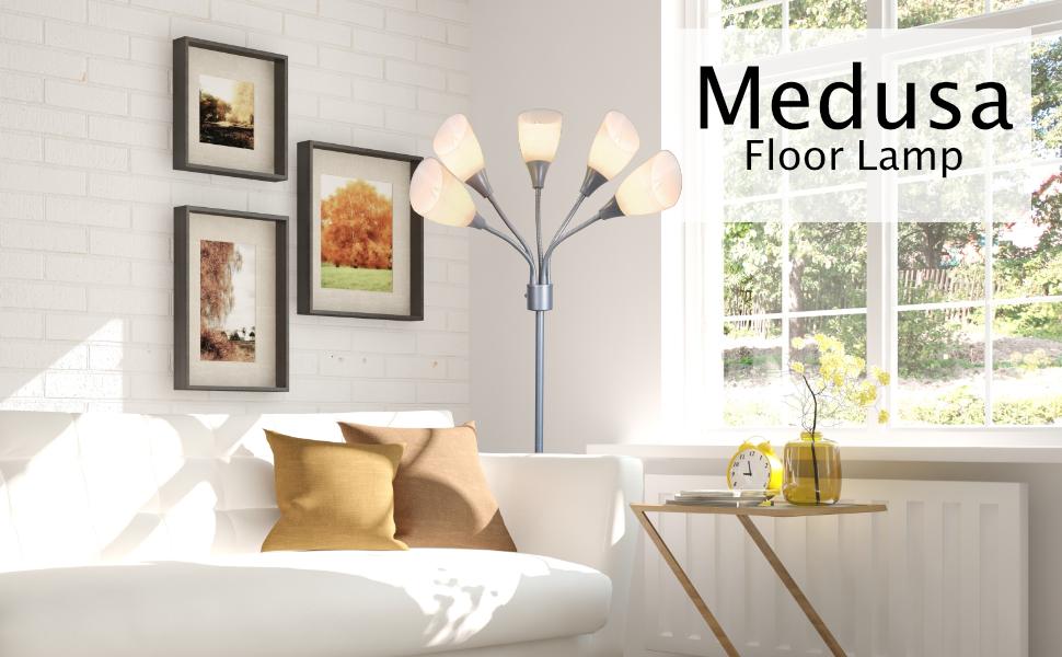 medusa floor lamp 3 light table lamp multi head desk lamp floor lamps standing lamp kids floor lamp