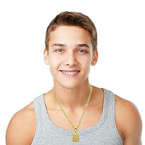 teenage  necklace