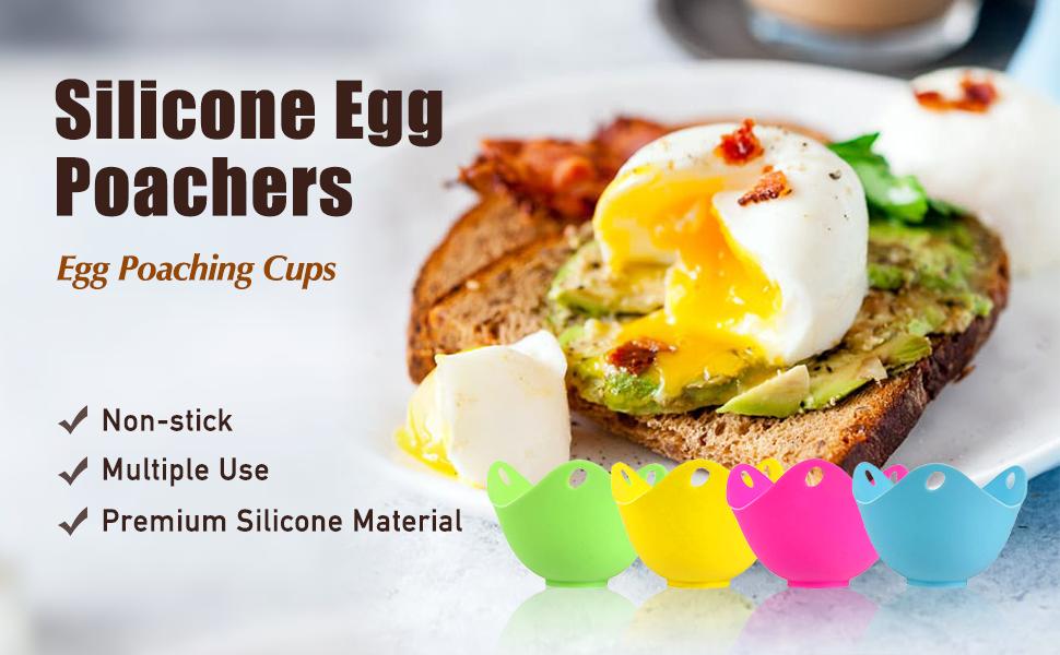 silicone egg poacher