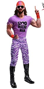macho man, wwe, wrestling, costume