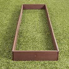 rectangle garden bed