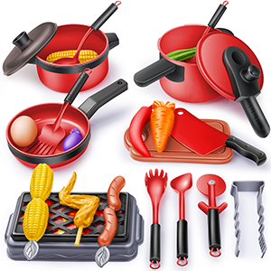Super value play kitchens Toy Set
