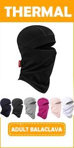 Vorshape Balaclava Ski Mask Face Warmer for Men Women, 7 Colors
